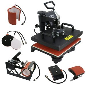 F2C Pro Heat Press Machine's Parts