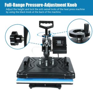 HikeGeek Heat Press Machine